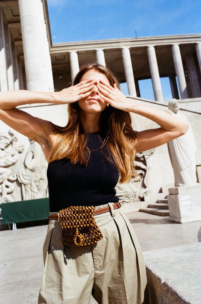 Shooting mode Paris Zara Monica Ainlay de la Villardière 1
